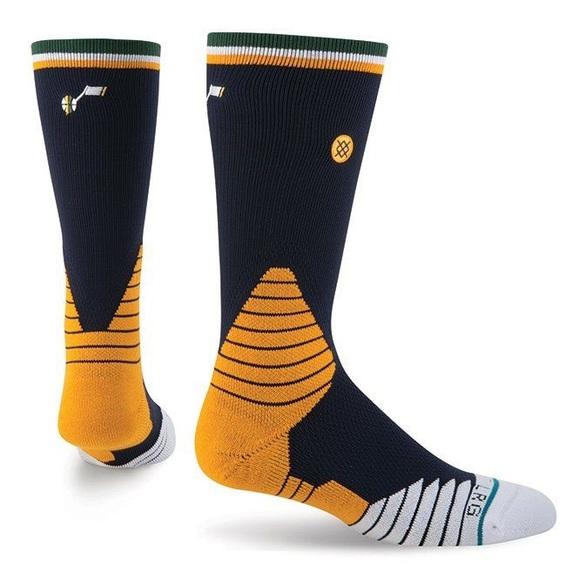 🆕 Stance NBA Utah Jazz Basketball Crew Socks